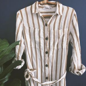 Zara Striped Tunic/Dress